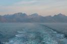 Lofoten vanaf veerboot